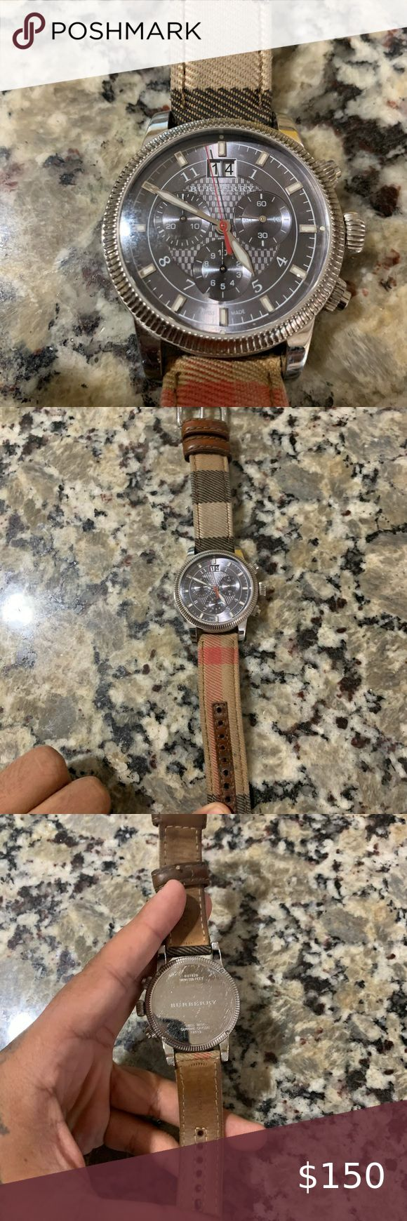 Mens Burberry Watch Quartz Mvmt in 2020 Burberry watch