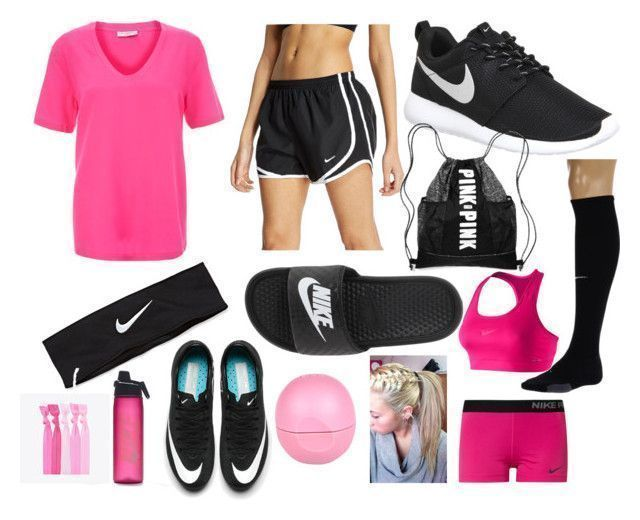 """Soccer essentials"" by emmagracejonesssss on Polyvore featuring Equipment, NIKE and River Island #socceressentials"