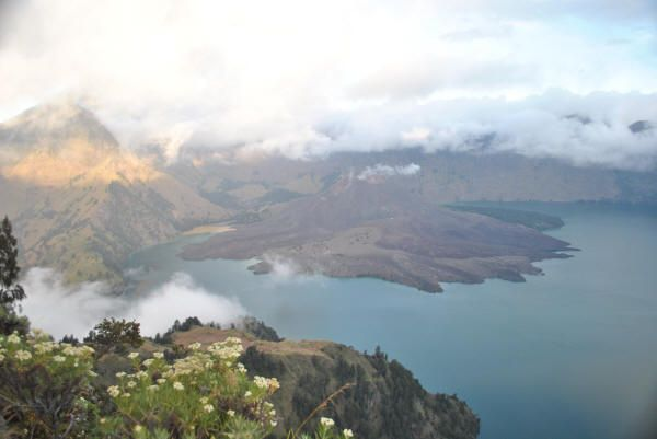 View from Crater rim Senaru Lombok by Desta Adventures at http://rinjanitrekpoint.com