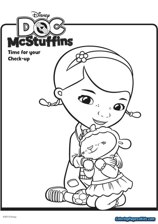 Free Doc Mcstuffins Coloring Pages, Download Free Clip Art, Free ... | 906x640