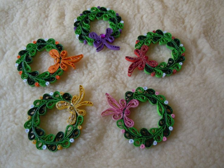 My christmas decorations 2014 facebook zdenka quilling for Quilling kitchen set