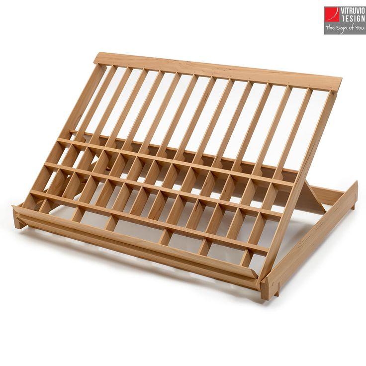 Leggio di design in legno | Made in Italy | Vitruvio Design
