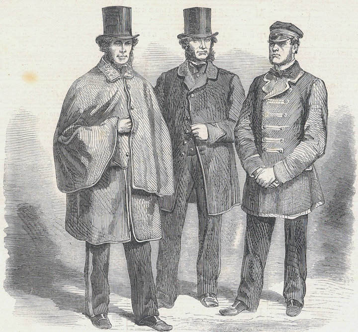 The New Uniform For The Letter Carriers And Mail Guard The