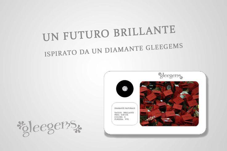 Diamanti Gleegems: perfetti anche come regalo di laurea!