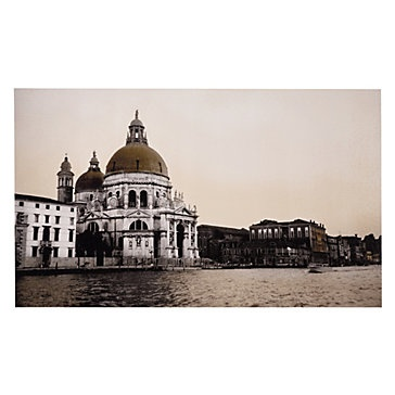 This alluring giclee by artist Thomas England uses sepia tones to highlight the details of the elaborate architecture. Venezia Domes, $449.95: Venezia Domes, Artists Thomas, Highlights