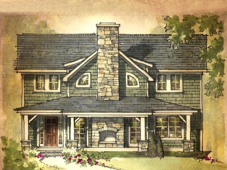 Giant Sequoia Home Plan - Earnhardt Collection™ by Schumacher Homes, maybe not a first house, but I think we would like to work towards something like this... with a barn of course!