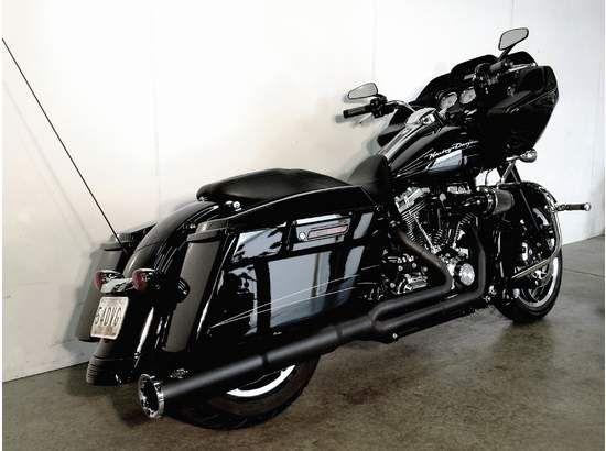 2010 Harley-Davidson Road Glide Custom FLTRX. Black on black what else?