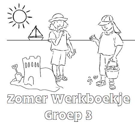 Zomer Werkboekje Groep 3 - Klaarwerk.nl
