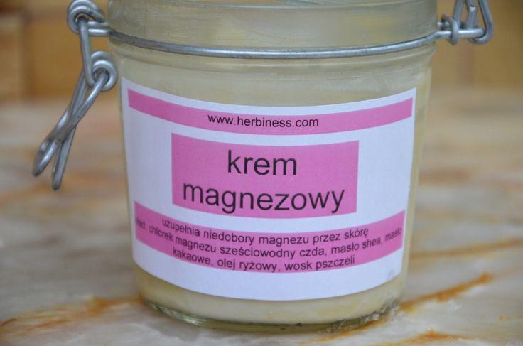 krem magnezowy - kosmetyk z oliwą magnezową