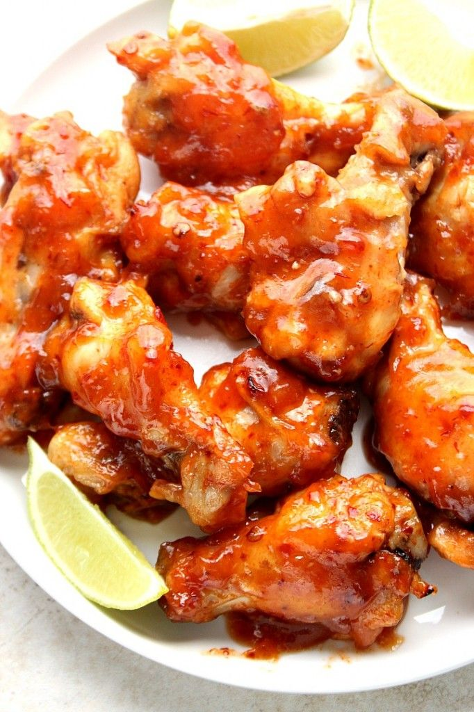 Sweet and Spicy Crock-Pot Chicken Wings | Recipe | Easy ...