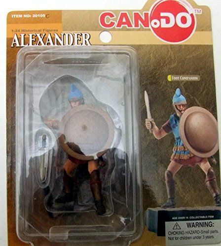Pre-Built Model Figures - 124 CAN DO Alexander the Great Battle of Issus Series Figure  Foot Companion ** You can find more details by visiting the image link.