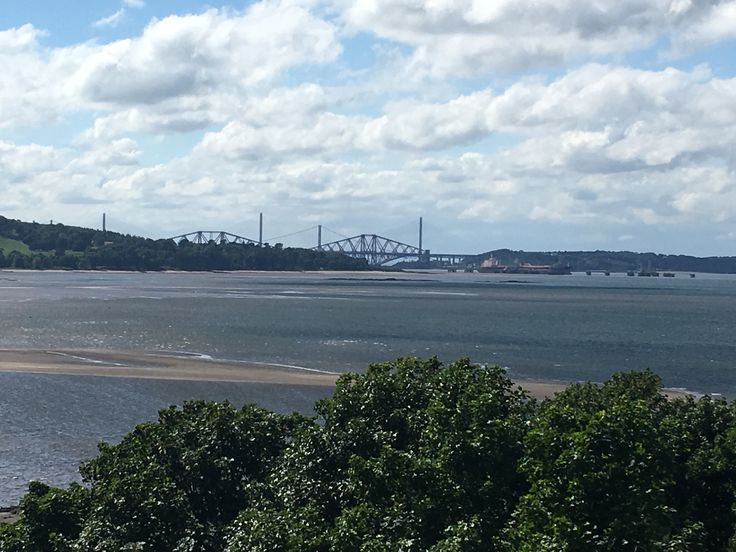 Three bridges from Cramond Island