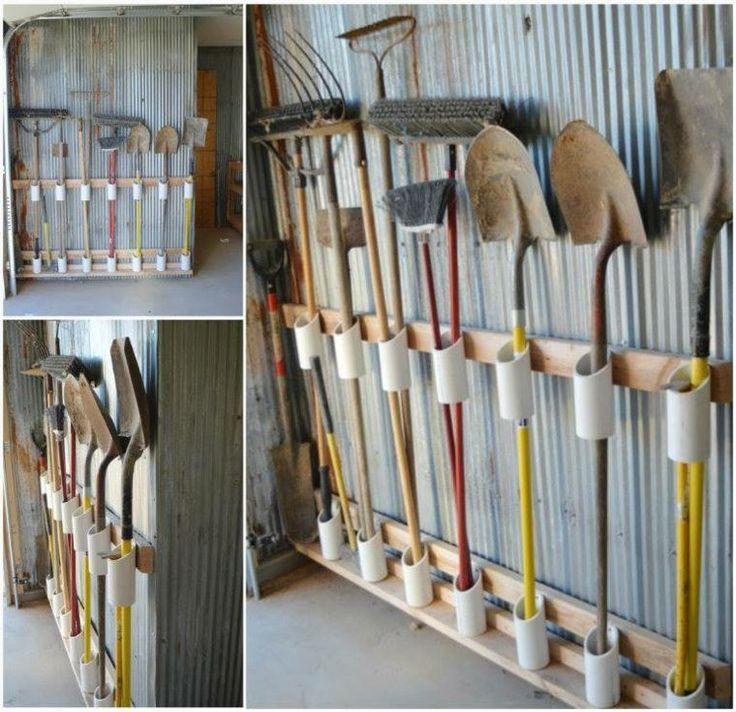 15 superbes idées de rangements pour votre garage !                                                                                                                                                                                 Plus