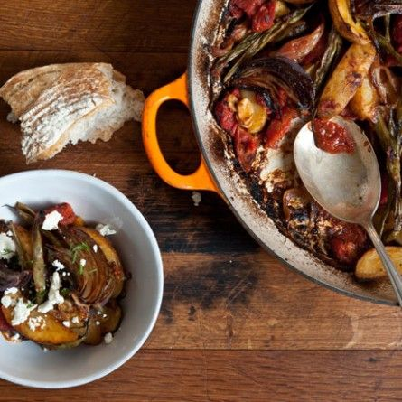 Greek-Style Vegetable Casserole Recipe