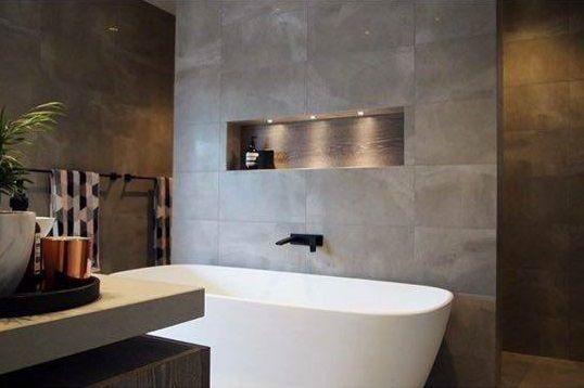 Beautiful bathroom inspiration by Bathrooms & Kitchens by Urban featuring Italia Ceramics tiles! www.italiaceramics.com.au    #italiaceramics #awardwinning #home #adelaide #southaustralia #italiantiles #europeantiles #project #build #style #tiles #tile #tiledesign #tilefloor #walltiles #floortiles #tileinspiration #design #beautifultiles #tile #tiles #bathroom #bathroomdesign #bathroomtiles #porcelain #porcelaintiles