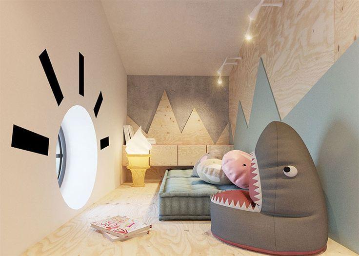 pouf requin