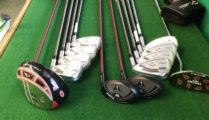 Monark Golf offers a variety of club shafts, grips and heads to serve the players of the game. Some of them are custom golf drivers, custom golf hybrids, custom golf wedges, custom chippers and custom golf irons. Call us at Toll-Free: (877)-551-4653