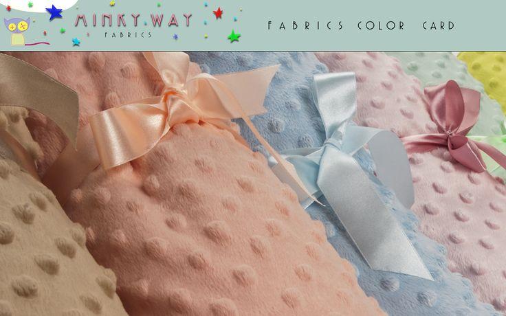 Minky Dots Fabrics