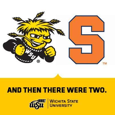 And then there were two...GO SHOCKERS!!! #BringGamedayToWichita