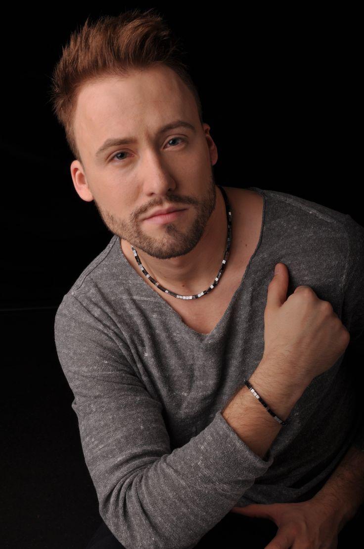 Mens jewelry: Hematite necklace and bracelet
