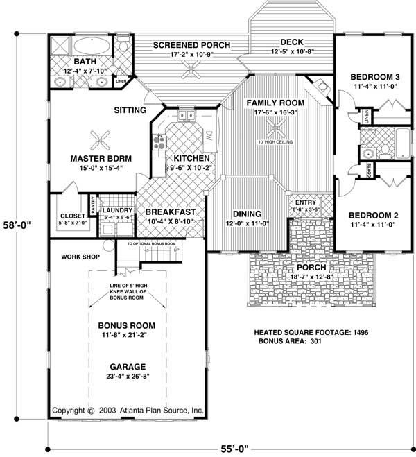 17 best images about house plans on pinterest house for Bathroom remodel 73012