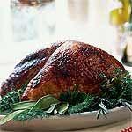 Mahogany Turkey Breast with Vegetable Gravy Recipe | MyRecipes.com