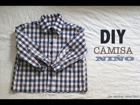 DIY Costura de camisa para bebe niño (patrón gratuito incluido) | Oh, Mother Mine DIY!! | Bloglovin'