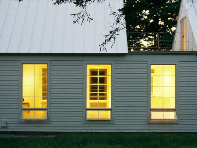 cool weatherboard house