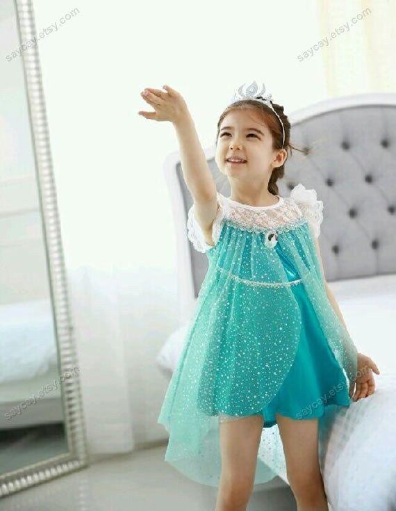 child Elsa dress children elsa dress frozen Elsa Dress by SayCay.