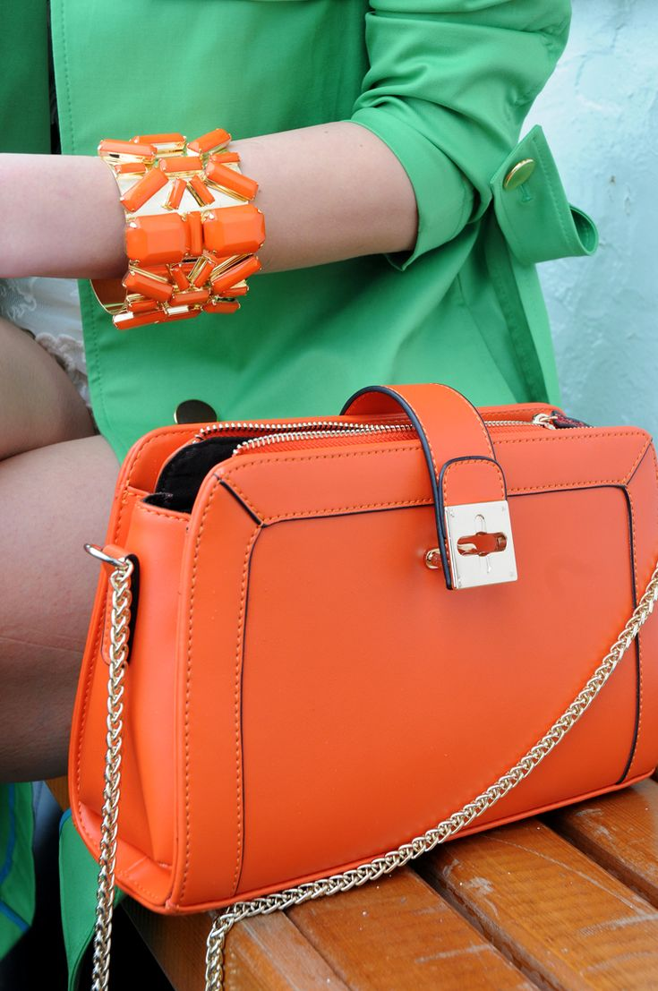 ♥COLORS Of The Rainbow♥ ***orange bag!
