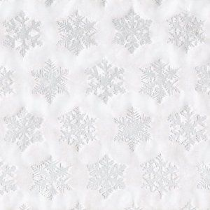 Entertaining with Caspari Continuous Gift Wrapping Paper, Silver Snowflake Embossed, 1-Count by Caspari. $18.95. Complete the look with Caspari tissue and ribbon; paper plates and napkins also available. Measures 30-inch (76cm) wide by 9ft (2.7m) per roll on 2-inch (5cm) core. Embossed snoflake design is extra festive. Lengths on rolls vary. Printed in the u.s.a.. Caspari giftwrap paper in Silver Snowflake Embossed decorates any gift with beautiful colors and pa...