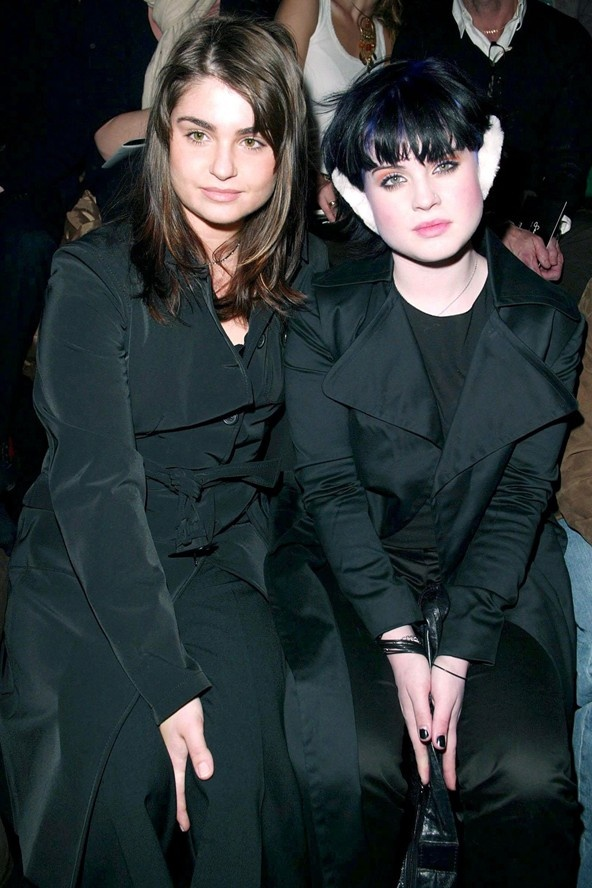 Aimee & Kelly Osbourne, Aimee actually seems to be the only sane one and is very pretty!