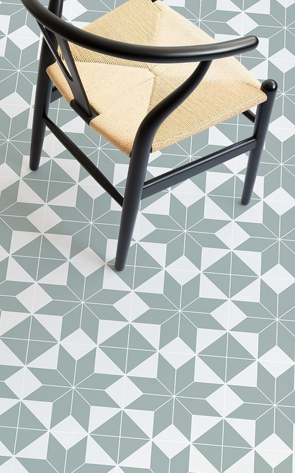 Victorian Tile Effect Vinyl Flooring Brittany Is A Victorian