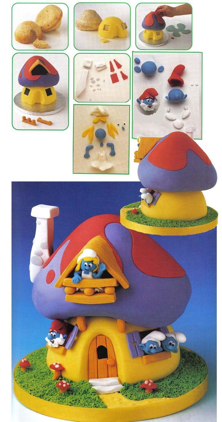 Smurfs House
