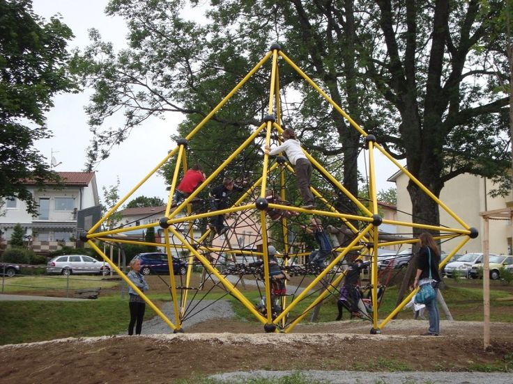 5.5m high climbing structure  with generous play volume for up to 35 users!  Also available as Triangulum model with four sitting nets and a resting net. #MtAspiring #PlaygroundCentre #NetTowers #PlaySpace #PlayGround #Fun #Play #ClimbingNets #Towers #Nets