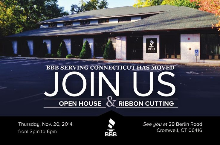 Join Us for our Open House, this Thursday November 20th!