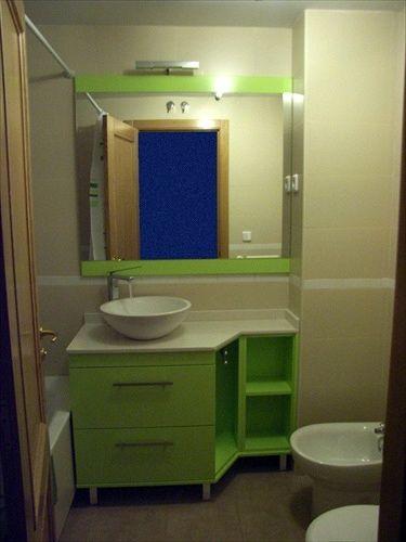 decoracion baños verde pistacho - Buscar con Google
