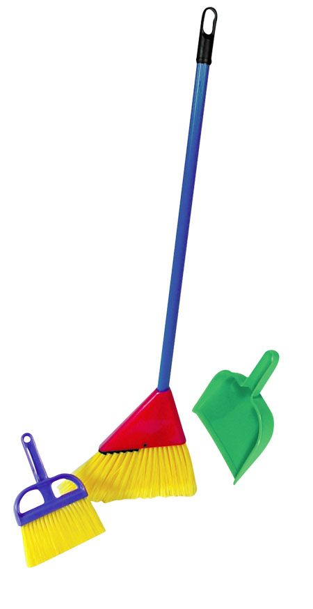 Little Helper Broom Set by Schylling - $10.99  He loves ours at home - this one is more his size!: Kids Play Kitchen, Helper Broom, Gift Ideas, Broom Set, Christmas Toys, Broom Toys, Christmas Gift, Kids Toys