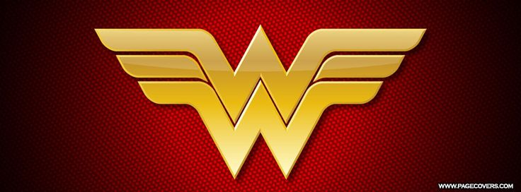 Wonder Woman Logo Facebook Cover