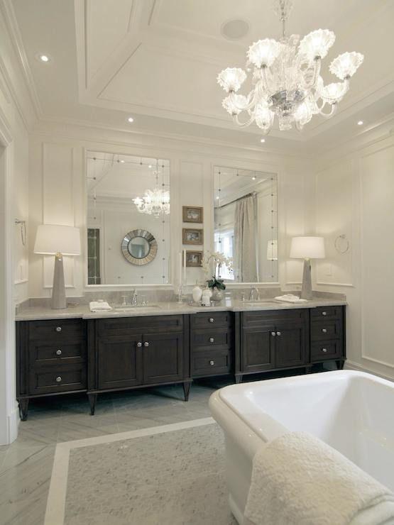 Master Bathroom Dark Cabinets 201 best bathroom images on pinterest | bathroom ideas, master