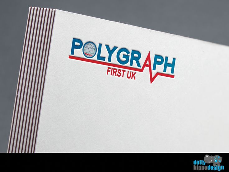 Logo design for Polygraph First UK