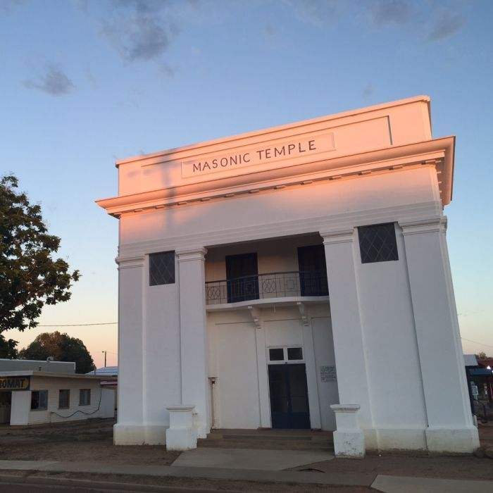 Freemasonry in the western Queensland town of Longreach has come to an end after more than 120 years.