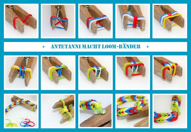 antetanni-macht_Rainbow-Loom-Baender_Collage