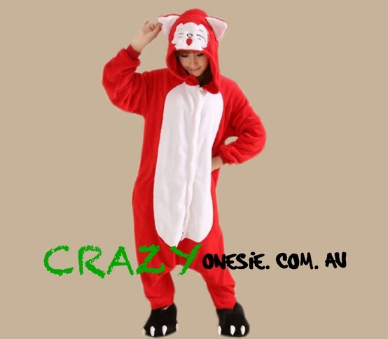 Fox Onesie. 25% off EVERYTHING in store. Free Express Delivery Australia-wide. Visit www.crazyonesie.com.au for more details. Visit our Facebook page https://www.facebook.com/crazyonesie for exclusive competitions and discounts