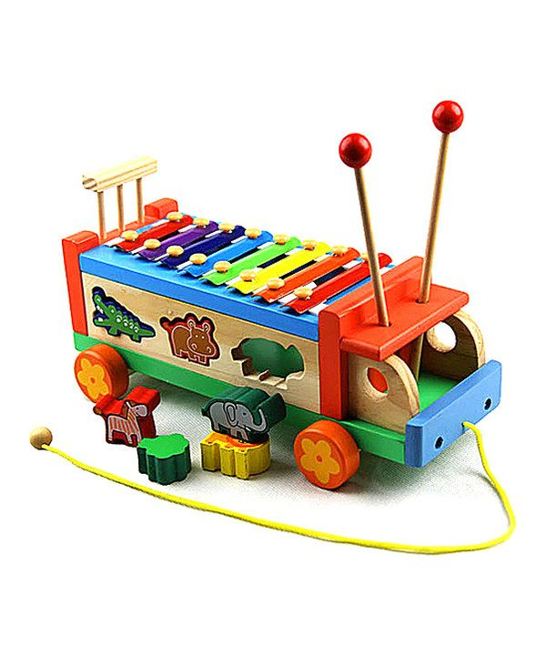This Red Eight Tone Puzzle Bug Xylophone By New Dimensions