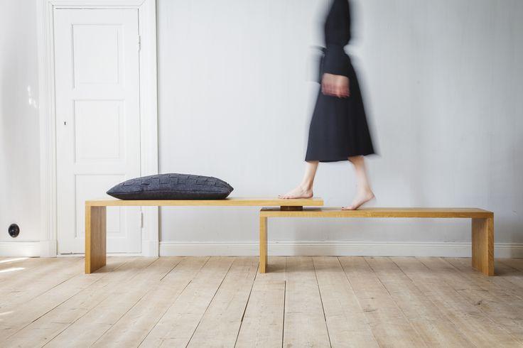 Bench design Andreas Haals & Tanja Krokvik