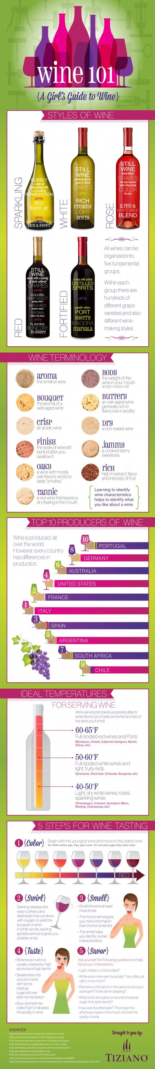 WINE 101- A girls guide to wine