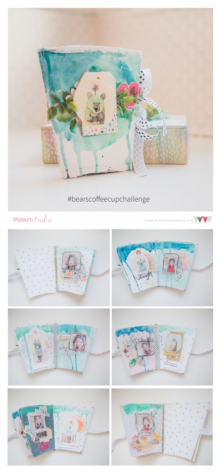 Diy mini album scrapbook for boyfriend 2014 youtube - Coffee Cup Album Challenge