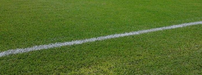 Linha lateral do Estádio Nicolau Alayon.