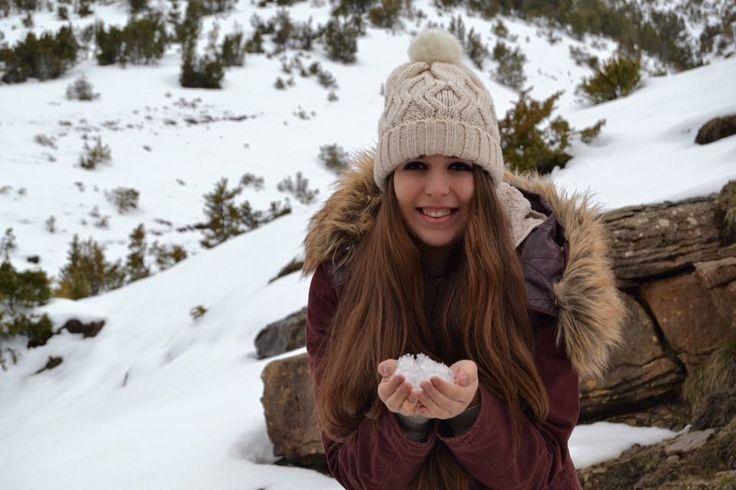 #snow #smile